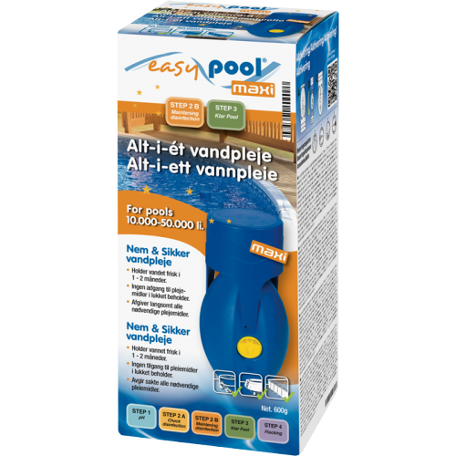 Easy Pool Maxi 10000-50000l altaille